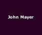View all John Mayer tour dates