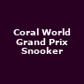 View all Grand Prix Snooker tour dates