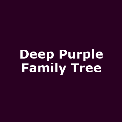 Deep Purple Family Tree