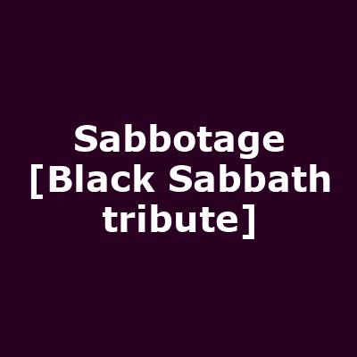 Sabbotage [Black Sabbath tribute]