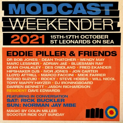 The Modcast Weekender