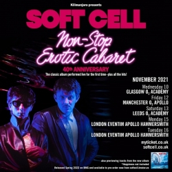 Soft Cell's Non-Stop Erotic Cabaret turns 40 - https://twitter.com/softcellhq