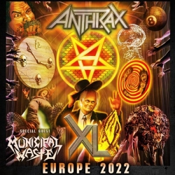 Anthrax are coming for you all