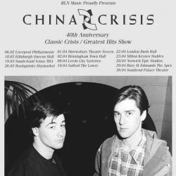China Crisis celebrate Classic Crisis - https://www.facebook.com/chinacrisisofficial