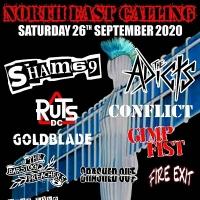 North East Calling, Sham 69 [Jimmy Pursey], The Adicts, Ruts DC, Conflict, Goldblade, Gimp Fist, Cra...