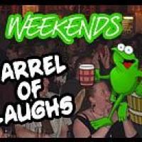 Barrel of Laughs - Image: www.frogandbucket.com