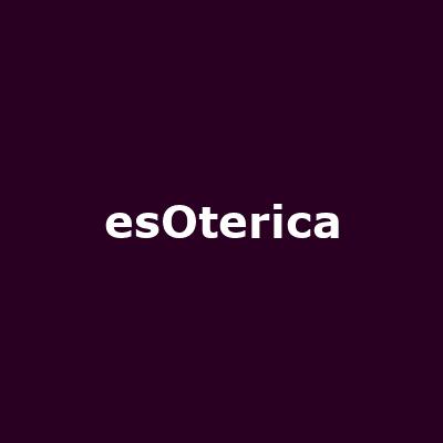 - Image: www.myspace.com/esoterica