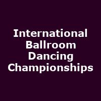 International Ballroom Dancing Championships - Image: www.royalalberthall.com
