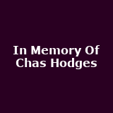 In Memory Of Chas Hodges