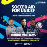 Soccer Aid for Unicef 2019