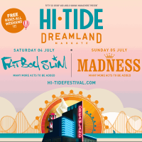 Hi Tide Festival, Madness, Rudimental - DJ set, Baxter Dury, Gentleman's Dub Club, Hollie Cook, Fatb...