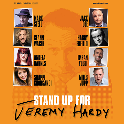 Stand up for Jeremy Hardy, rescheduled from March, rescheduled from March