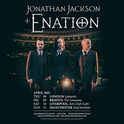 Jonathan Jackson and Enation - Ultraviolet Empire