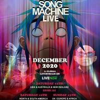 Song Machine Live (Song Machine Season One: Strange Timez - live stream from 7PM). Tickets: www.gorillazlivenow.com