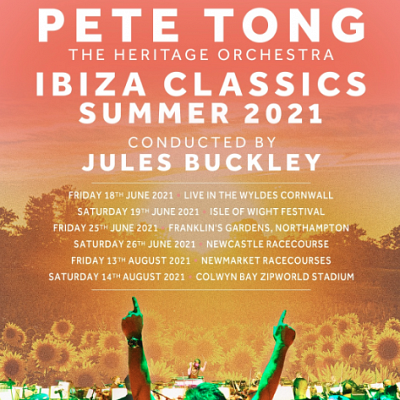 Pete Tong and the Heritage Orchestra, rescheduled from June