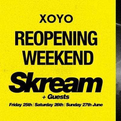 XOYO Reopening Weekend: Skream