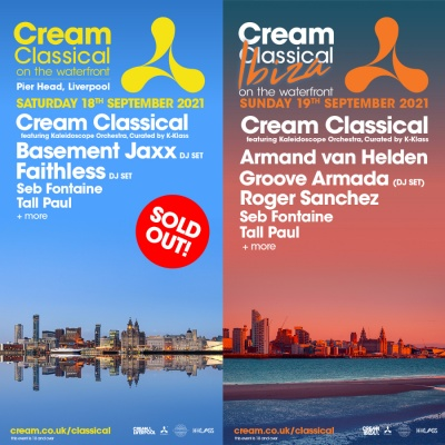 Cream Classical on the Waterfront